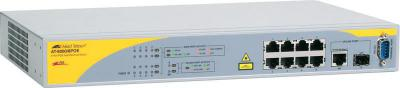 Коммутатор 8 Port PoE Managed Switch with 1* 10/100/1000T/SFP Allied Telesis AT-8000/8POE-50.